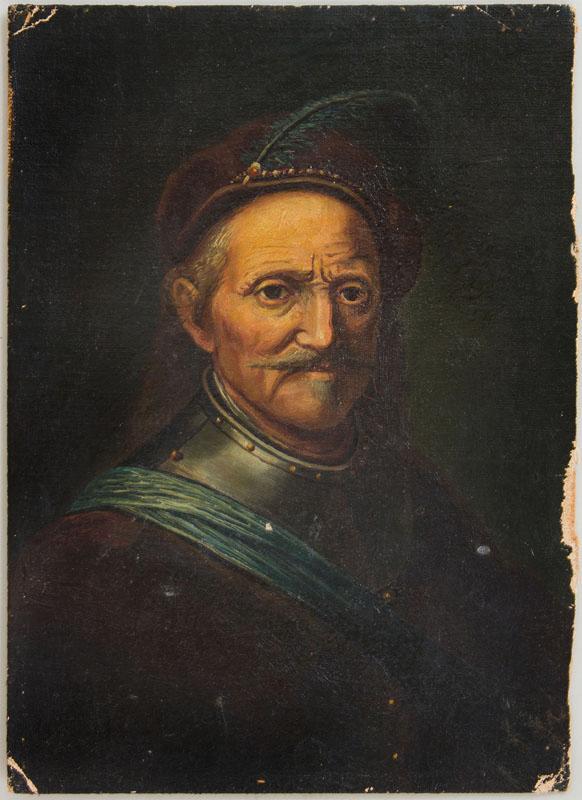 European School: Portrait of a Cavalryman