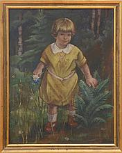 Peppino Mangravite (1896-1978): Girl in a Yellow Dress
