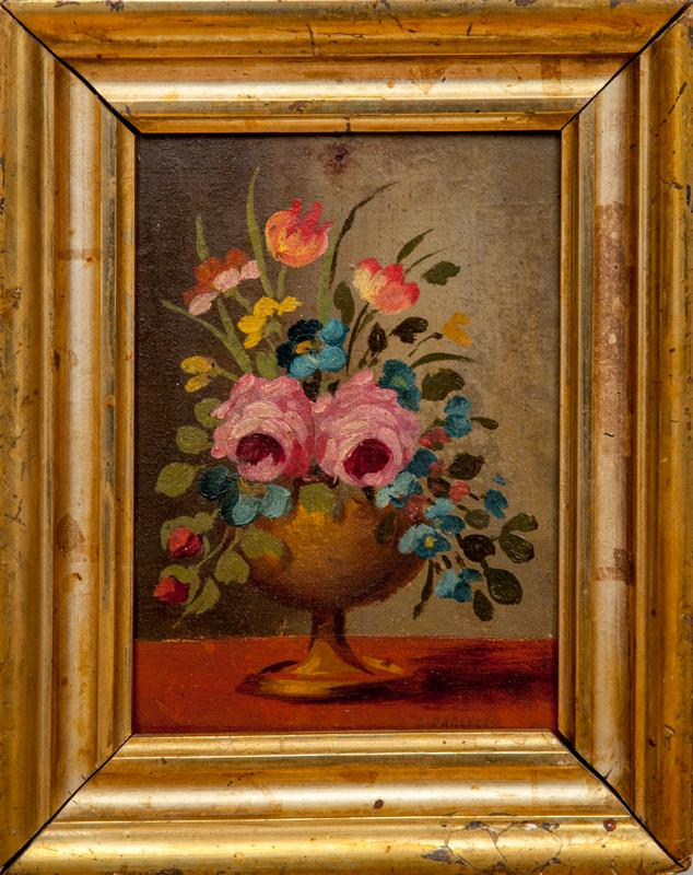 European School: Still Life of Flowers