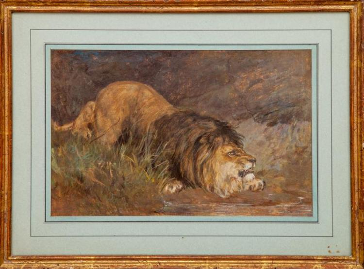European School: Crouching Lion