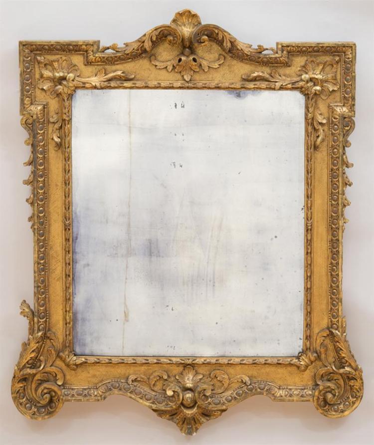 GEORGE II GILTWOOD PICTURE FRAME