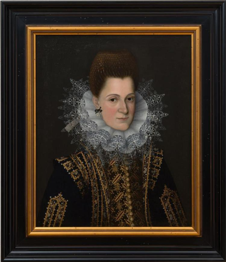 FLEMISH SCHOOL: PORTRAIT OF A LADY