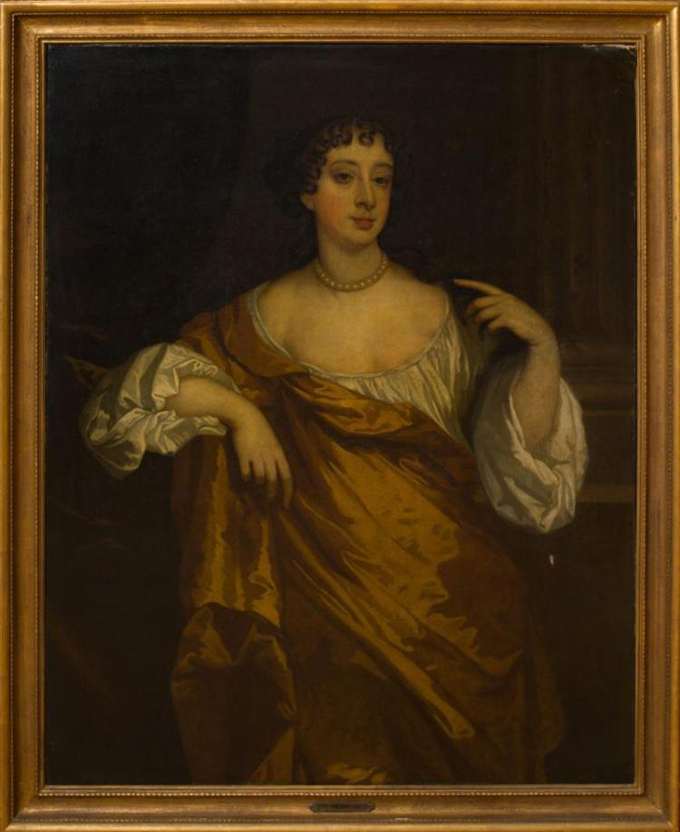ATTRIBUTED TO PETER LELY (1618-1680): PORTRAIT OF BARBARA VILLIERS