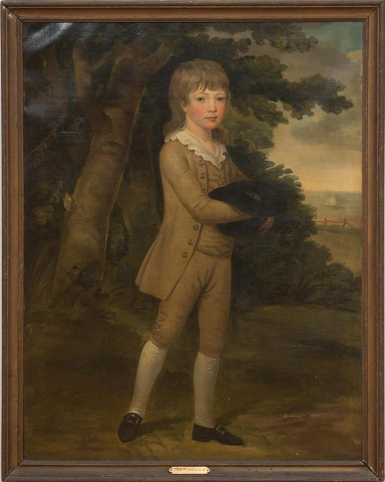 STUDIO OF JOHN RUSSELL (1745-1806): PORTRAIT OF MASTER MILWARD
