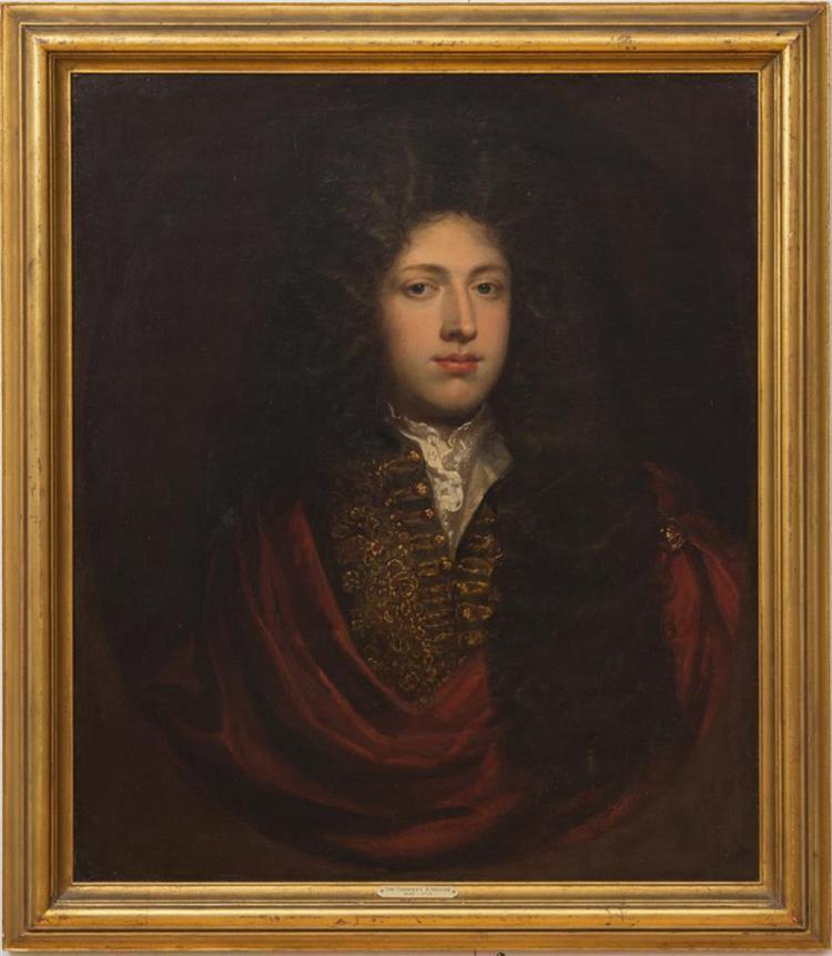 ATTRIBUTED TO GODFREY KNELLER (1646-1723): PORTRAIT OF AN ENGLISH GENTLEMAN