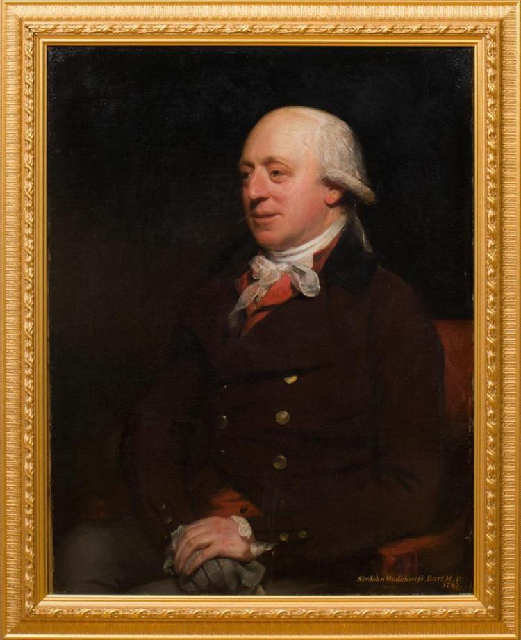 SIR WILLIAM BEECHEY (1753-1839): PORTRAIT OF SIR JOHN WODEHOUSE