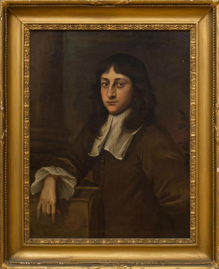 ENGLISH SCHOOL: PORTRAIT OF A YOUNG MAN