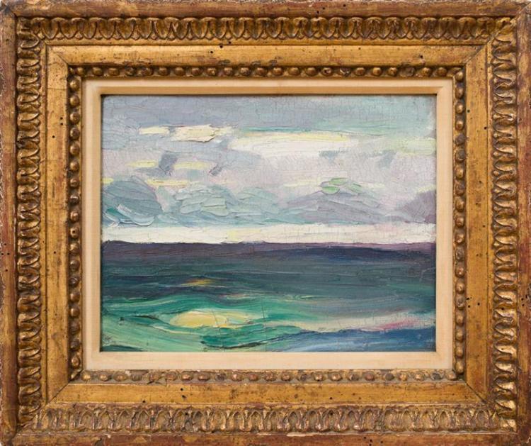 ARTHUR B. CARLES (1882-1952): SEASCAPE NO. 2