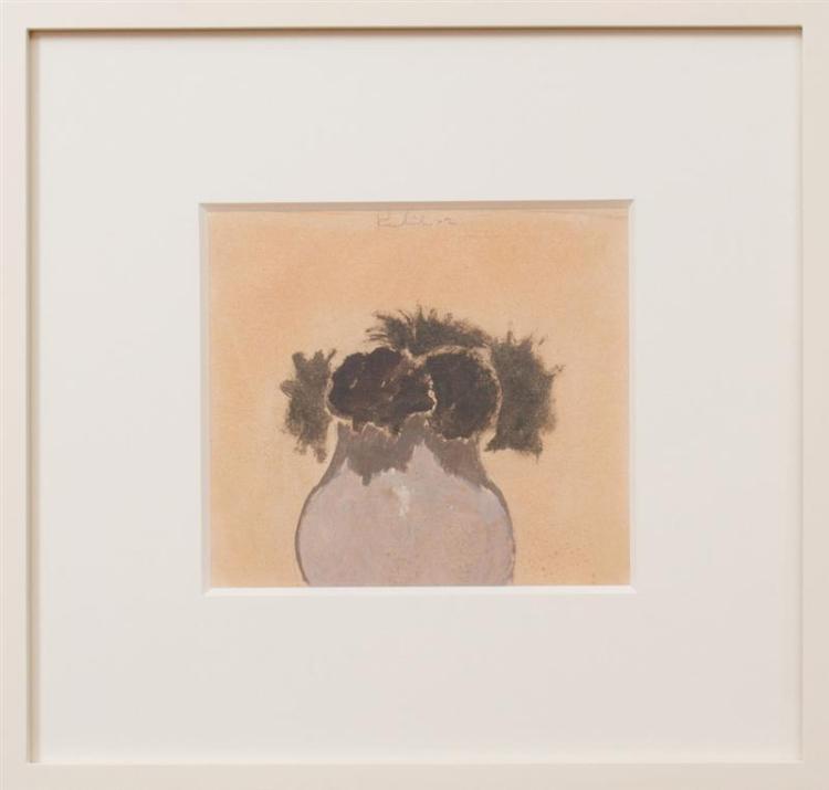 ROBERT KULICKE (1924-2007): VASE OF FLOWERS