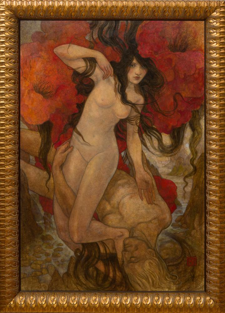 REBECCA GUAY LEVEILLE: POPPIES