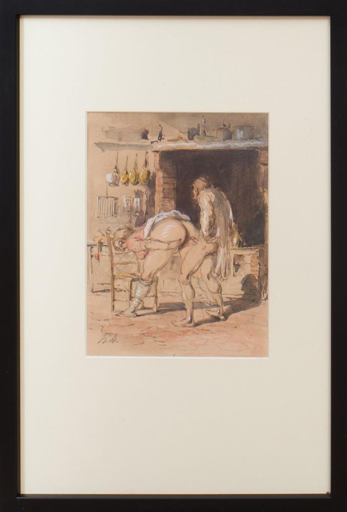 HONORÉ DAUMIER (1808-1879): UNTITLED