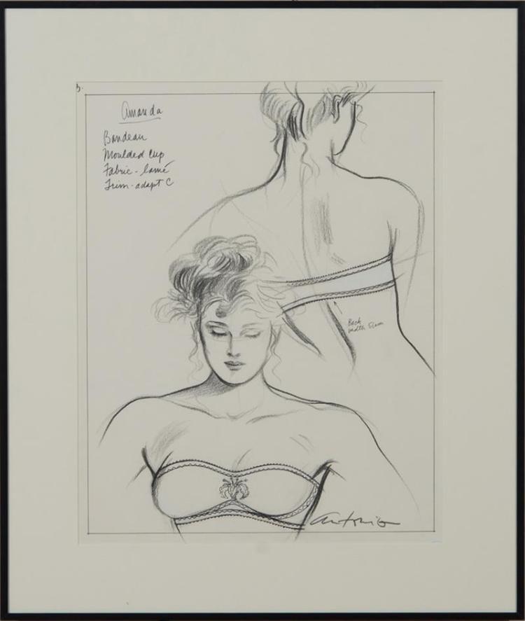 ANTONIO LOPEZ (1943-1988): AMANDA, JODY (VARIATION); ALANA; AND ALICE