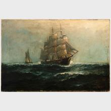 James J. McAuliffe (1848-1921): Rough Seas