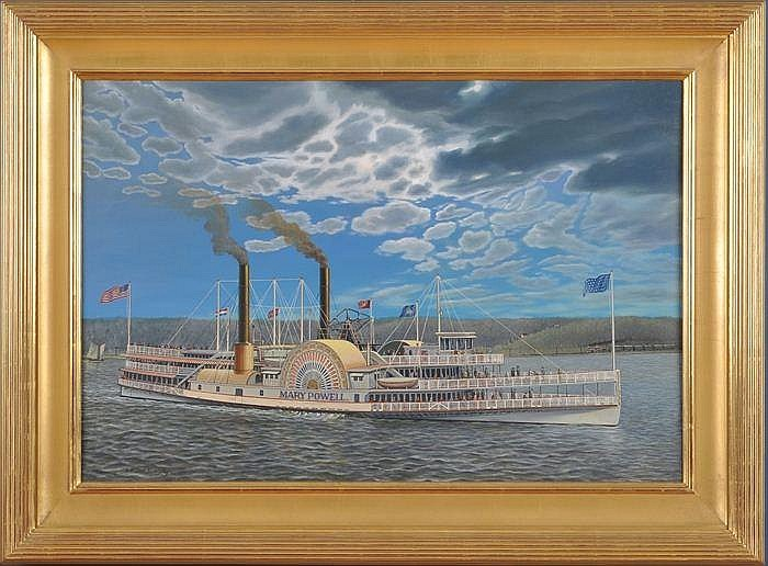 ALBERT NEMETHY (1920-1998): STEAMBOAT MARY POWELL