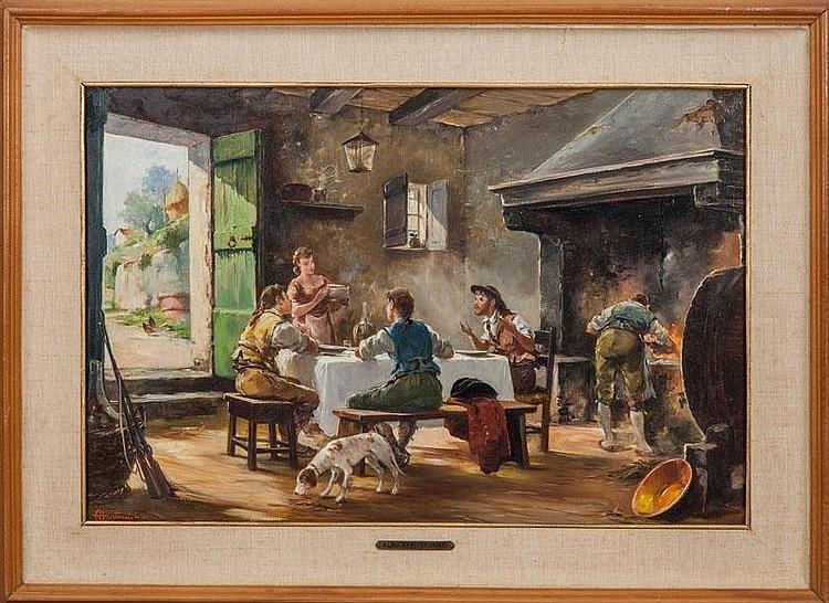 Aldo Affortunati (1906-1990): Around the Table