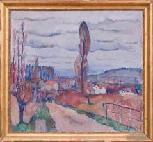 EMILE BRESSLER (1886-1966): LANDSCAPE