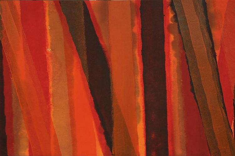 EDWARD AVEDISIAN (1936-2007): UNTITLED, 1969