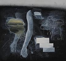 VERNON FISHER (b. 1943): NOT LISTENING, 1994
