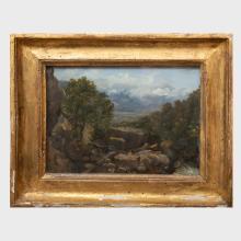 Jules Joyant (1803-1854): Landscape in the Dauphiné