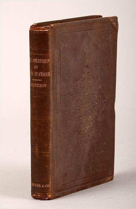 The Courtship of Miles Standish and Other Poems by Henry Wadsworth Longfellow