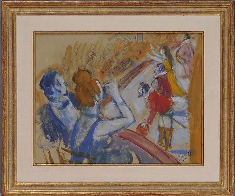 ROBERT PHILLIP (1895-1981): AT THE OPERA