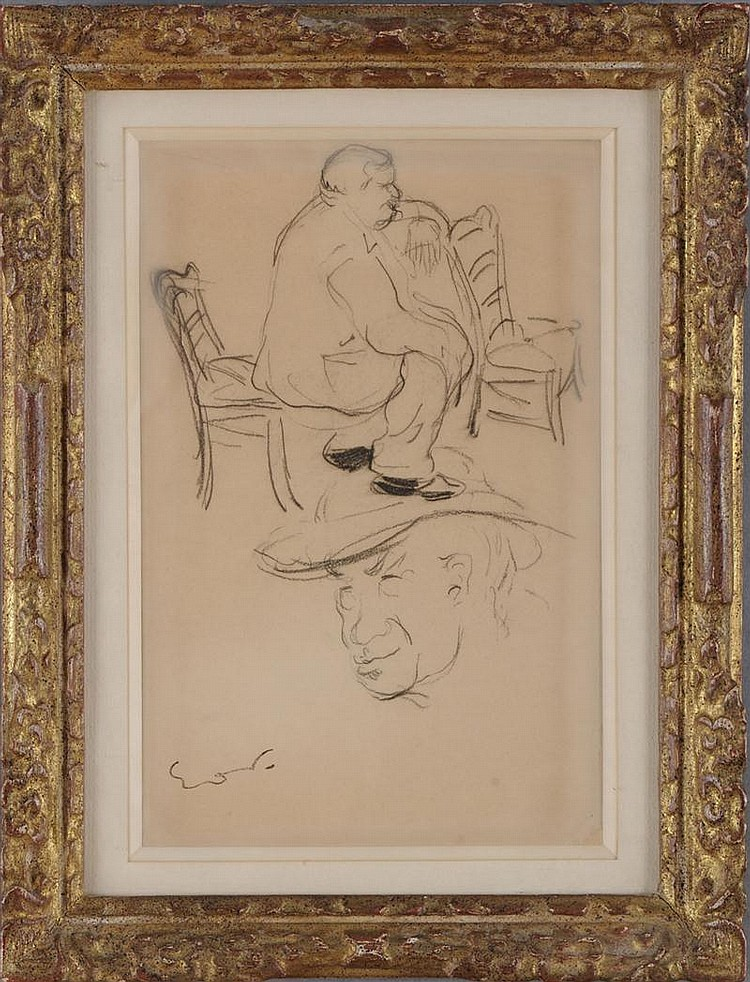 EMILE-OTHON FRIESZ (1879-1949): TWO STUDIES OF A MAN