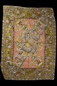 ITALIAN EMBROIDERED SILK COVERLET