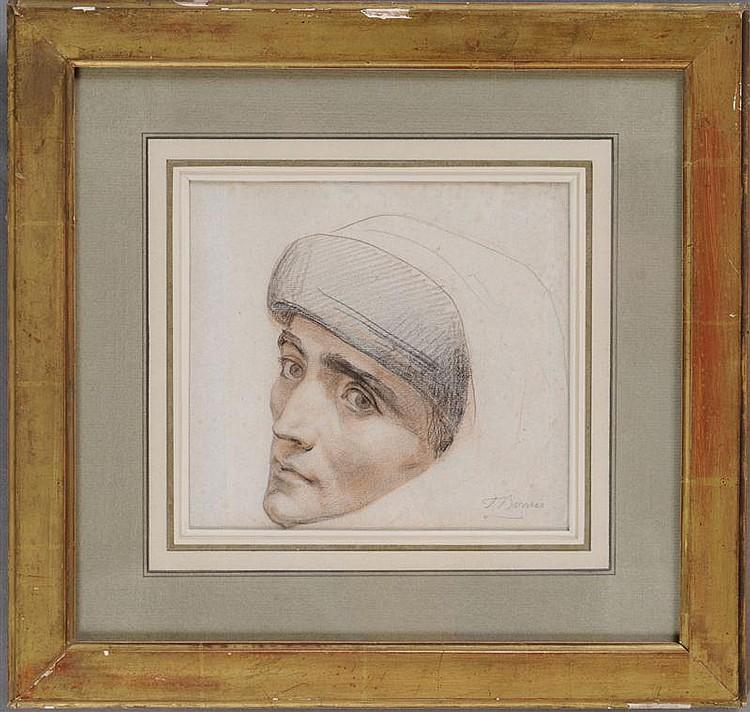 FELIX-JOSEPH BARRIAS (1822-1907): HEAD OF DANTE