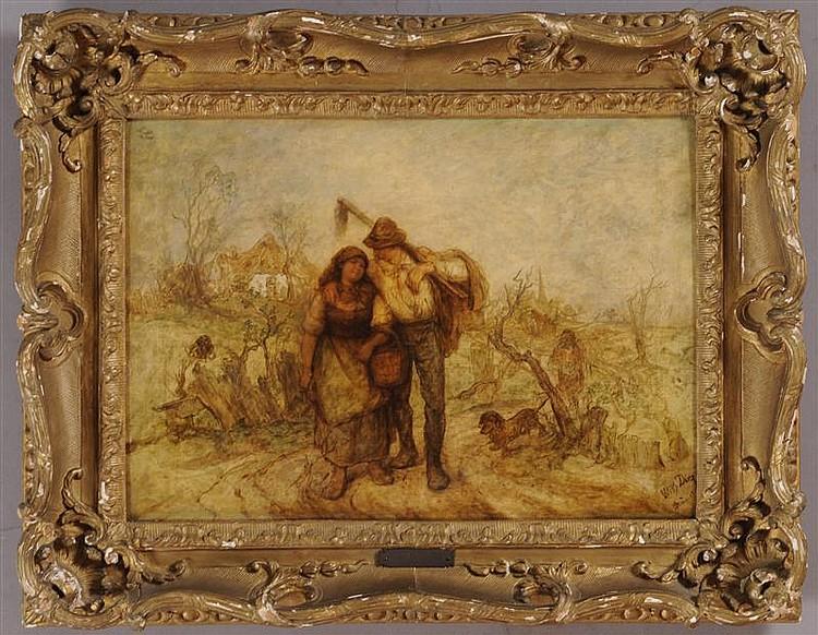 WILHELM DIEZ (1839-1907): HEADING HOME