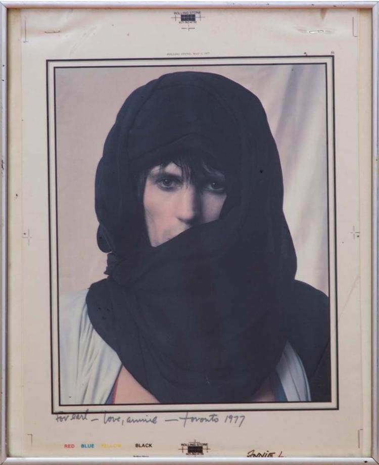 73203: Annie Leibovitz (American, b. 1949) Mark Morris
