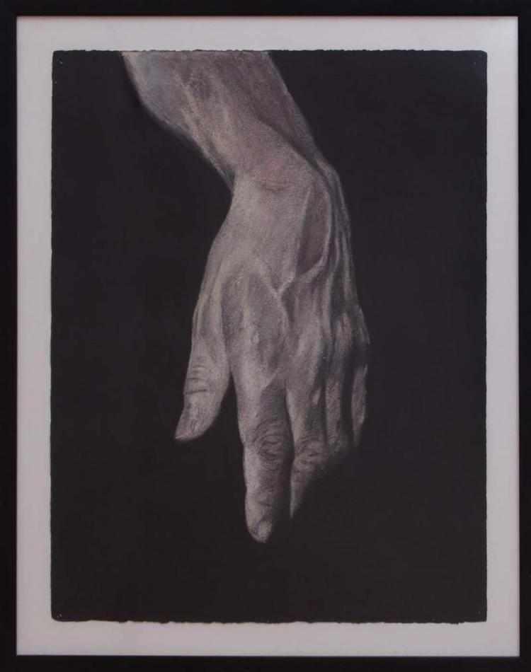 MELISSA COOTE (b. 1966): HAND A; HAND B; AND HAND C