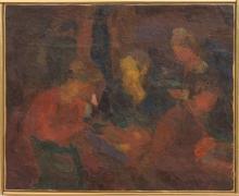 Eugenie Baizerman (1899-1949): Cafeteria