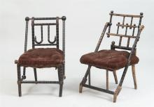George Hunzinger, Two Parlor Chairs