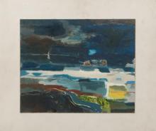 Derek Hyatt (1931-2015): Across Blue Space to Addingham