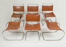 Mies van der Rohe / Knoll International, Six ''MR'' Side Chairs
