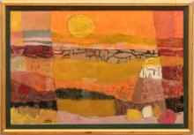 Merril Dean Mahaffey (b. 1927): Desert Sunset