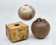 Studio Pottery, Three Vases
