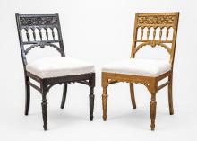 Aesthetic Movement, Two Side Chairs