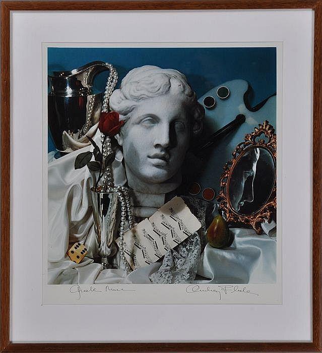 AUDREY FLACK (b. 1931): GREEK MUSE