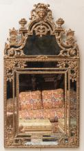 RÉGENCE CARVED GILTWOOD MIRROR