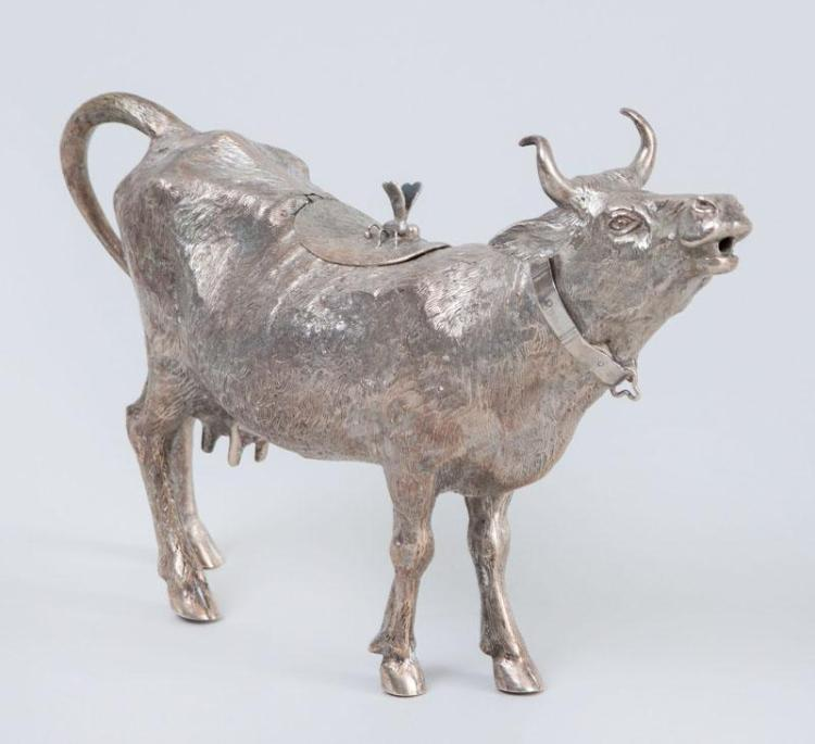 CONTINENTAL SILVER COW-FORM CREAMER