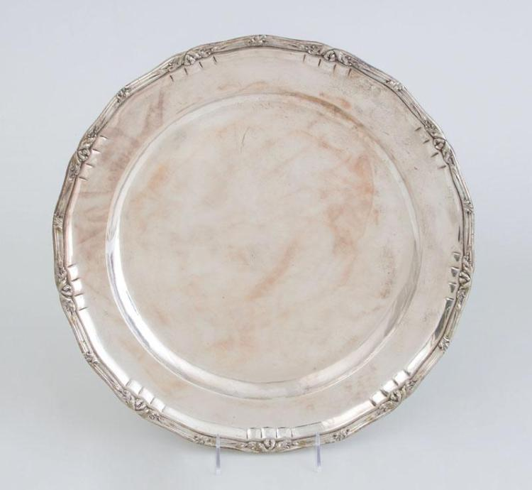CONTINENTAL (800) SILVER LARGE TRAY