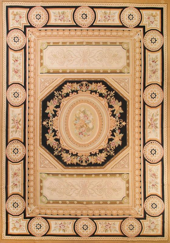 CHARLES X STYLE AUBUSSON CARPET
