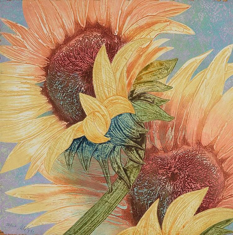 Mikulas Kravjansky (b. 1928): Flowers