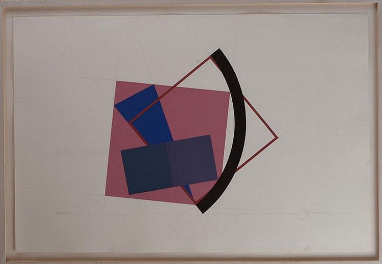 John Pearson (British/American, b. 1940): Fragment #5