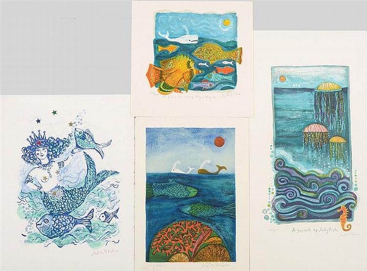 Judith Bledsoe (American, b. 1928): Sea Creatures