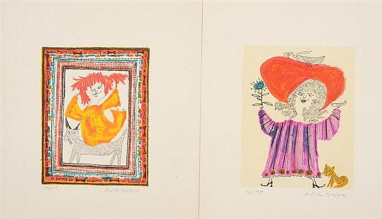 Judith Bledsoe (American, b. 1928): Figural Studies