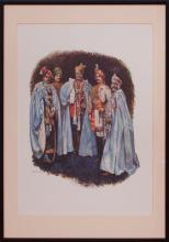 AFTER BYAM SHAW (1872-1919): THE INDIAN ROYALS; AND FIVE INDIAN ROYALS