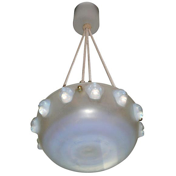 Rene Lalique Chandelier