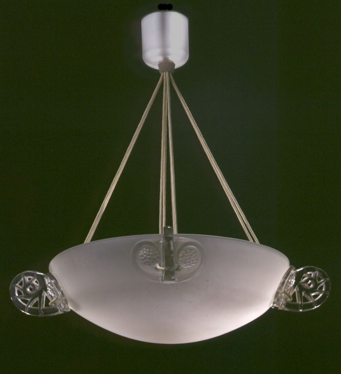 "Rene Lalique Chandelier ""Ronces"""